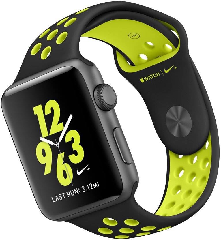 Apple Watch Nike+, 38mm and 42mm Silver Aluminium Case ...