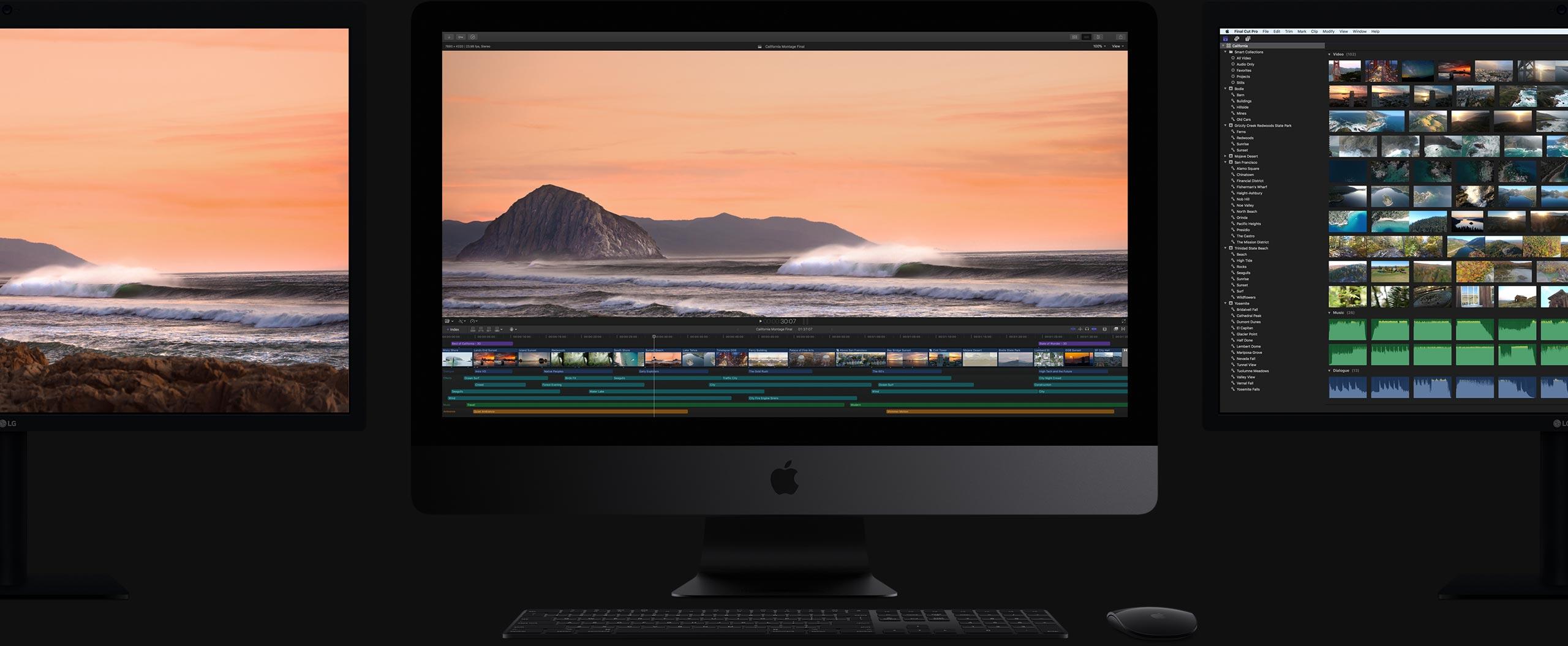 iMac Pro big screens