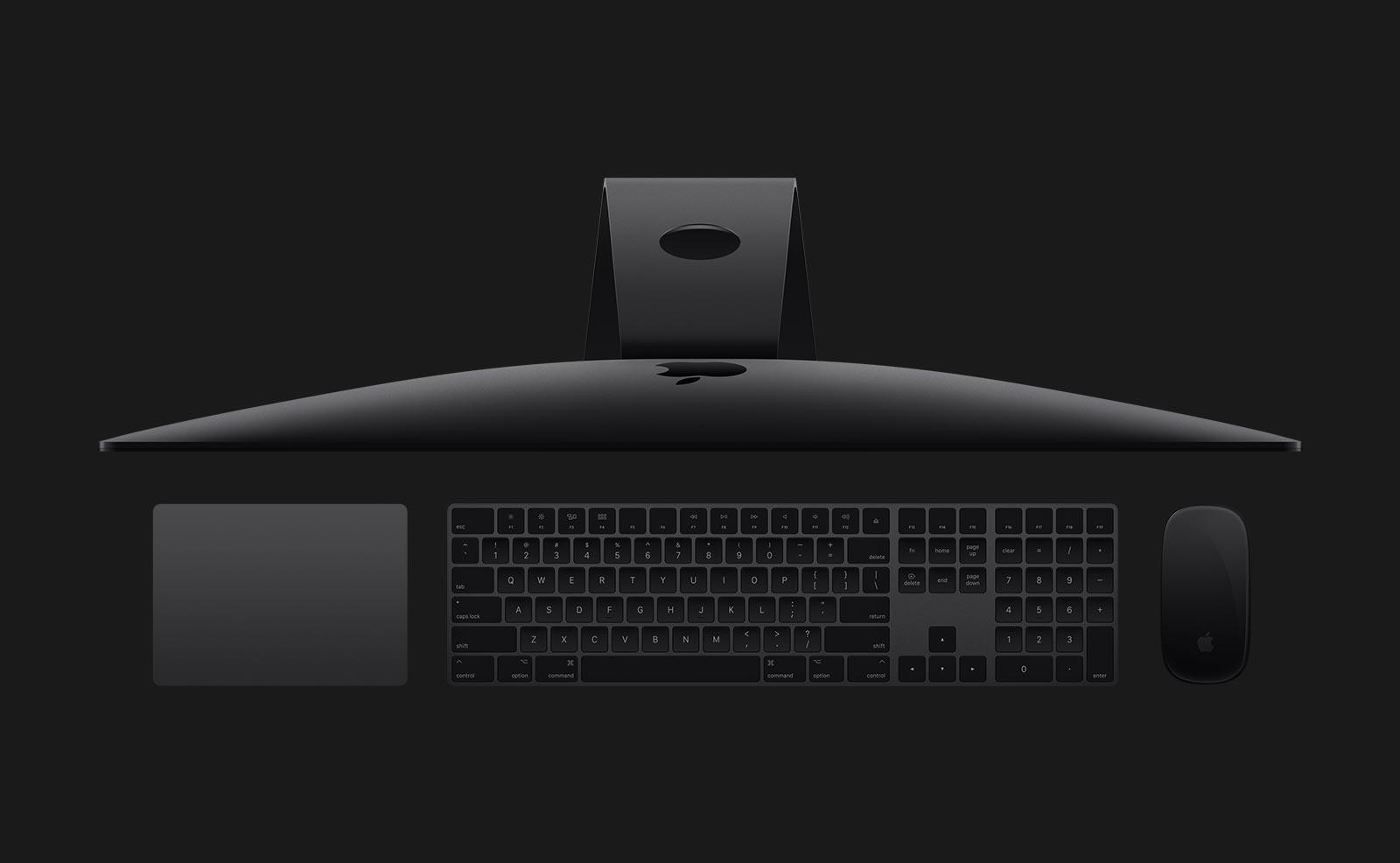 iMac Pro Accesorries side