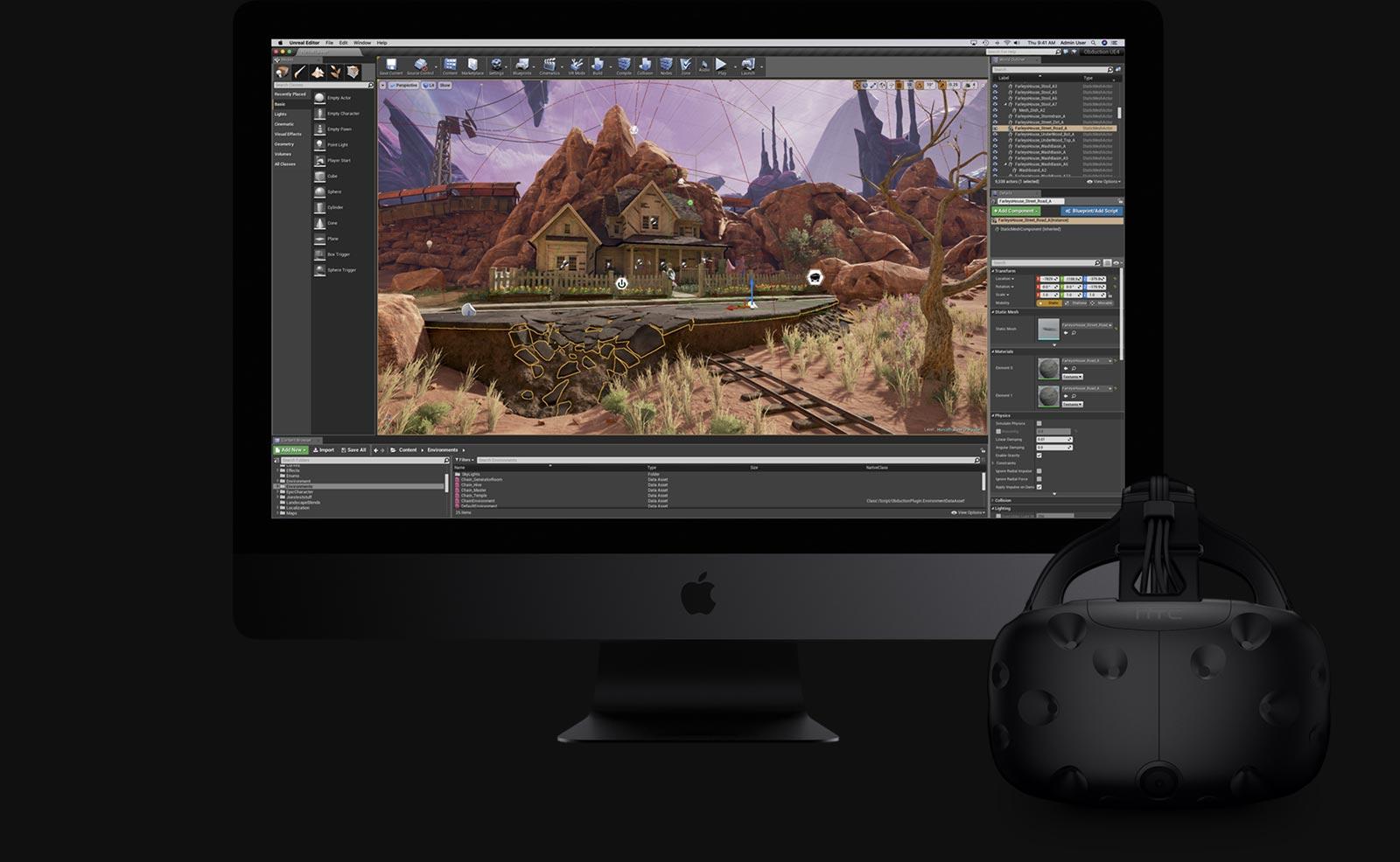 iMac Pro VR