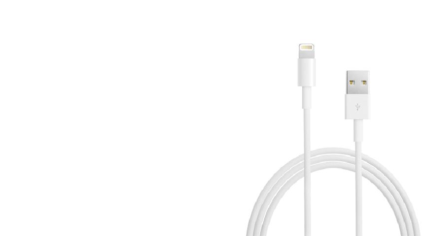 Apple Lightning кабел 1m